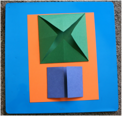 How to Make a Complete Lapbook Using Four Pieces of Paper: Includes Pictures of How to Fold Lapbook Elements (Folder is Optional)