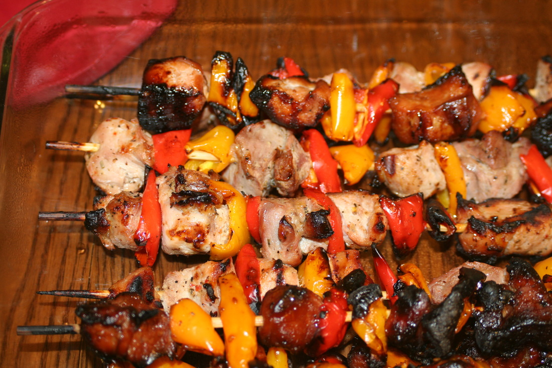 Kabobs- Gluten, Dairy, Egg Free Meal Idea