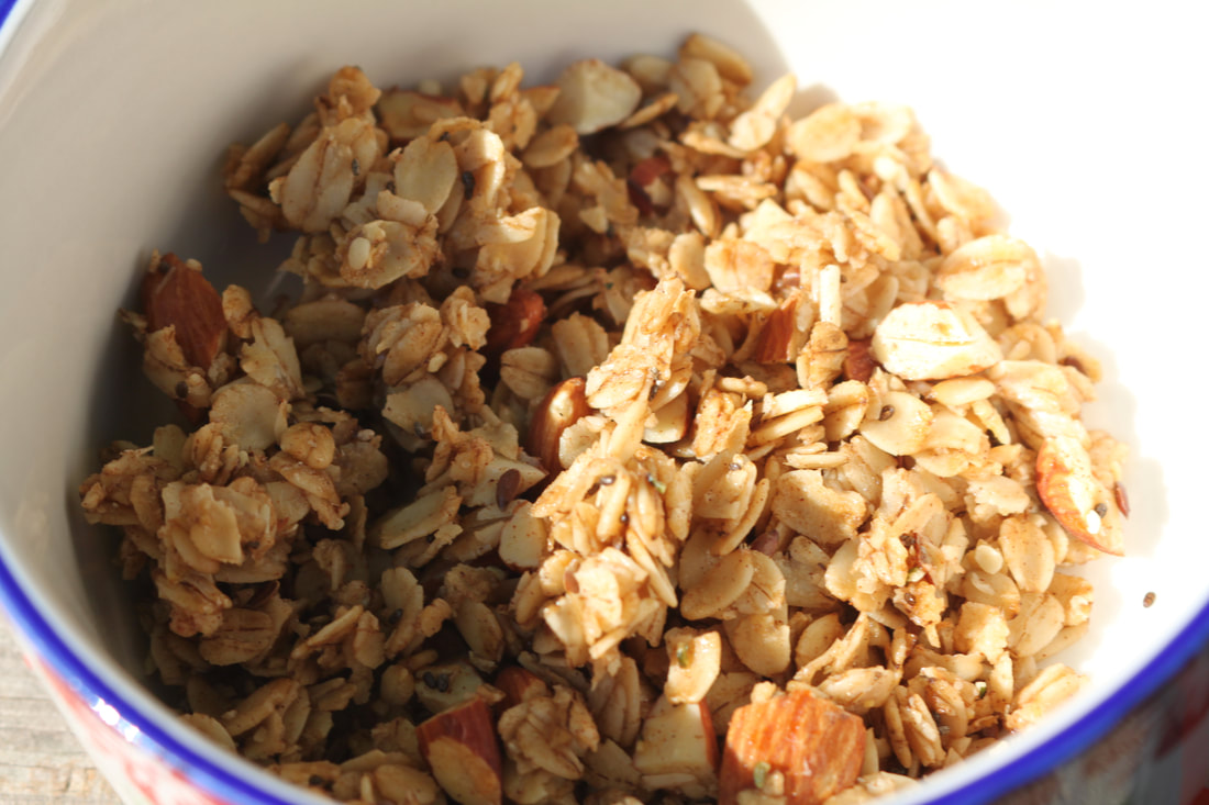 Simple, Easy Gluten-Free Granola