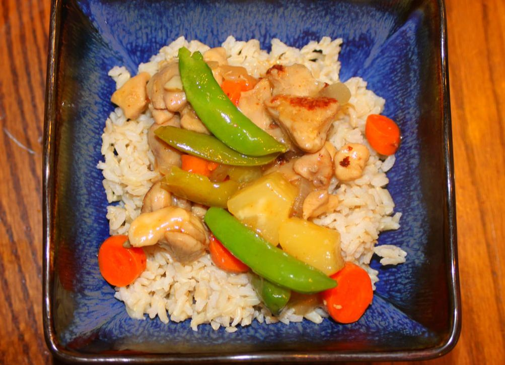 Hawaiian Sweet And Sour Chicken- Gluten, Dairy, Egg, Refined Sugar Free Recipe