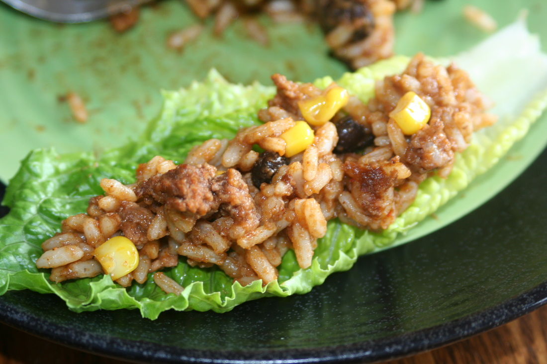 Taco Rice- A Gluten, Dairy, Egg Free Meal Recipe