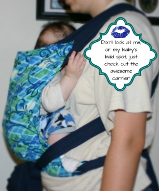 How to Make Your Own Comfortable Baby Carrier- Easy, Mei Tai/Wrap Style