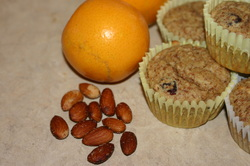 Almond Meal Muffins with Cranberry & Orange: Gluten, Dairy, Egg Free Recipe