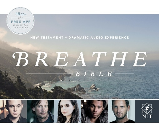 BREATHE New Testament NLT Audio Bible on CD: Review